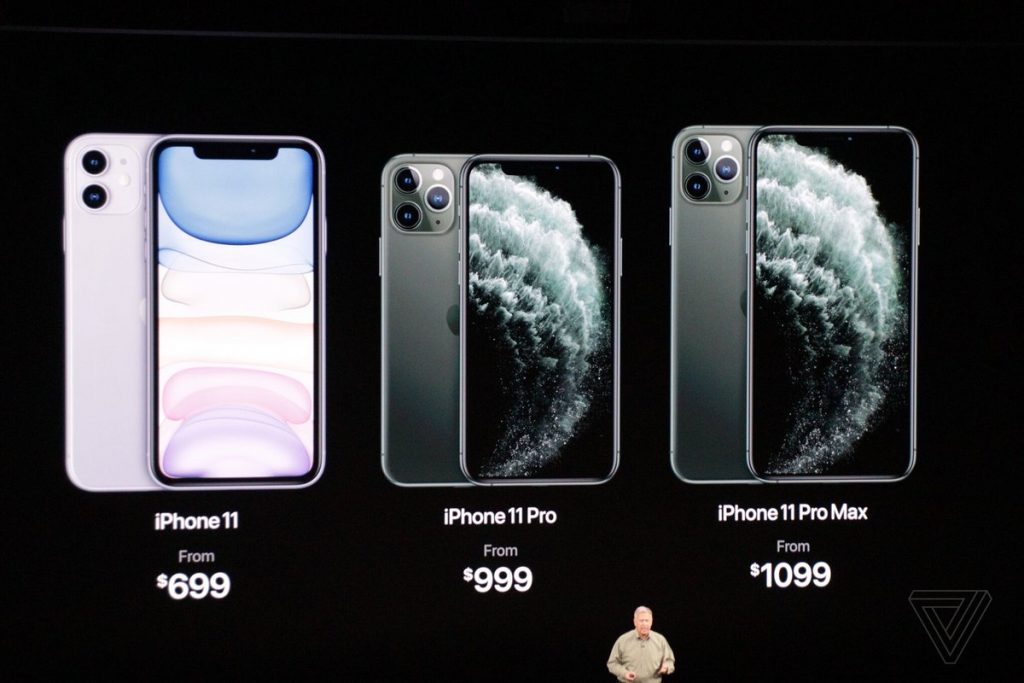 """شاهد: """"أبل"""" تعلن رسميا عن مواصفات وسعر هاتفها الجديد """"أيفون11″… فيديو وصور"""