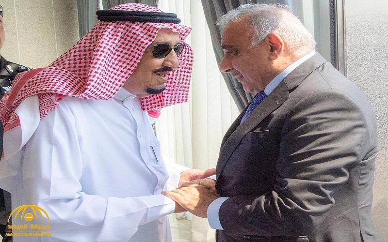 بالصور .. خادم الحرمين يستقبل رئيس وزراء العراق ويقيم مأدبة غداء تكريماً له