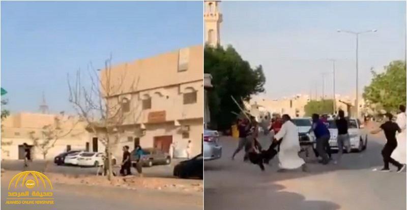 بيان من شرطة الرياض بشأن المشاجرة الجماعية بالعصي في حي النسيم .. والكشف عن عدد أطرافها وجنسياتهم