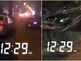 """سائقو مركبات تعرضوا لحادث على الطريق.. شاهد ردة فعلتهم الغريبة بعد تأخر """"نجم"""" عليهم!"""