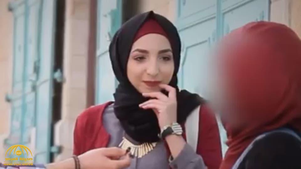 """شاهد بالفيديو… الفتاة الفلسطينية """" إسراء غريب """" تظهر في لقاء تليفزيوني بالشارع وهذا ما طلبته من المحاور !"""