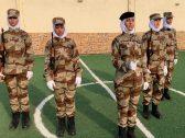 """شاهد بالصور: تدشين أول فرقة لـ"""" العروض العسكرية """" النسائية في السعودية.. ومسؤولة تكشف لـ""""المرصد"""" أهدافها!"""