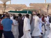 شاهد .. تشييع  جثمان زين العابدين بن علي في مقبرة البقيع بالمدينة المنورة