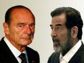 """رئيس الاستخبارات البريطانية يكشف عن مفاجأة بشأن """"صفقة مشبوهة بالملايين"""" بين شيراك وصدام حسين"""