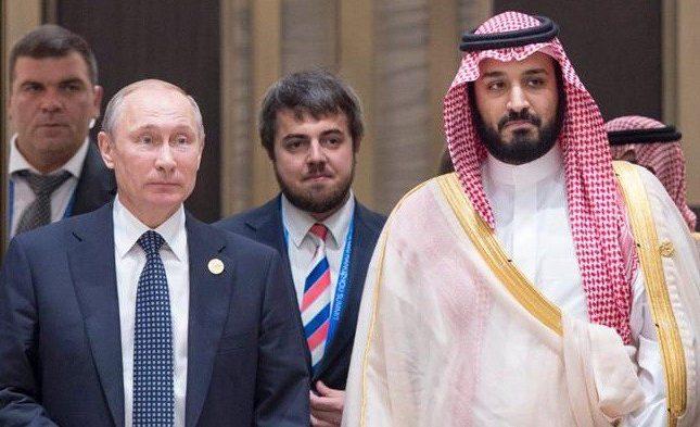 """الكرملين يكشف عن اتصالٍ بين """"بوتين"""" وولي العهد حول الهجوم على """"أرامكو""""!"""