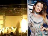 شاهد … فيديو مروع  للحظة وفاة مغنية بوب أسبانية على خشبة المسرح وسط صرخات الجمهور !
