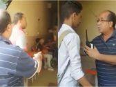 """شاهد : ردة فعل رئيس حي في القاهرة تفاجأ بوجود طلاب هاربين من المدرسة لتدخين """"الشيشة""""!"""