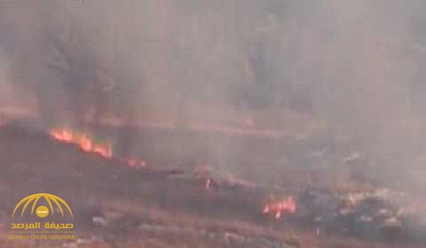 """شاهد .. أثار القصف الإسرائيلي على جنوب لبنان بعد عملية """"حزب الله"""""""