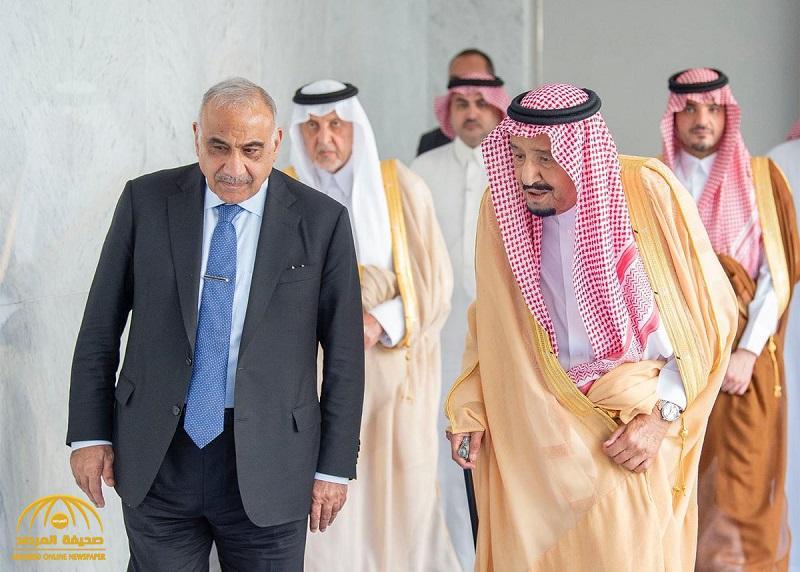 بالصور .. خادم الحرمين يستعرض هجمات أرامكو خلال جلسة مباحثات مع رئيس وزراء العراق