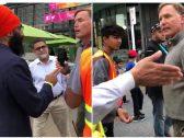 شاهد: مناهض للمهاجرين يتهجم ويشتم نائب مسلم في كندا