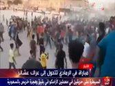 شاهد.. معركة طاحنة بين عشائر عراقية في الرمادي بسبب مبارة كرة قدم!