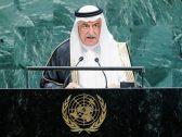 """من مقر الأمم المتحدة في نيويورك .. """"العساف"""": النظام الإيراني مارق وإرهابي ويتحمل مسؤولية الهجمات على منشآت أرامكو"""