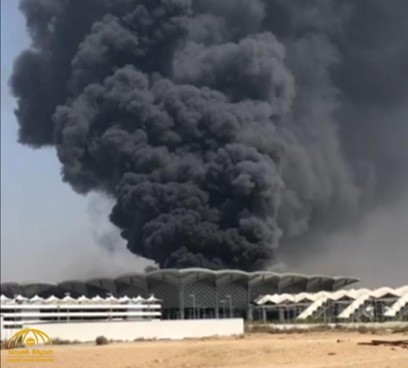 تطورات جديدة في حريق محطة قطار الحرمين النيابة تستدعي مغرد أشعل