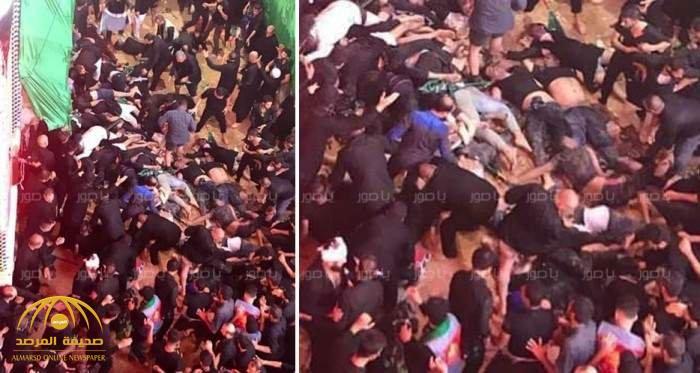 بالصور والفيديو  … شاهد سقوط  عشرات القتلى والجرحى في انهيار ممر أثناء مراسم يوم عاشوراء !