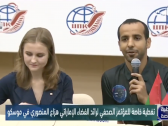 """الإماراتي هزاع المنصوري يحسم الجدل بشأن مارآه في رحلته للفضاء """"هل الأرض كروية أم مسطحة؟"""""""