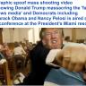 """شاهد .. فيديو ساخر لـ """"ترامب"""" وهو يقتل خصومه الديمقراطيين ويطلق النار على وسائل الإعلام"""