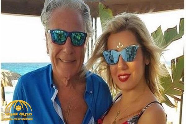 شاهد: زوجة مصطفى فهمى تخطف الأنظار بمكياج صاخب و فستان أبيض!