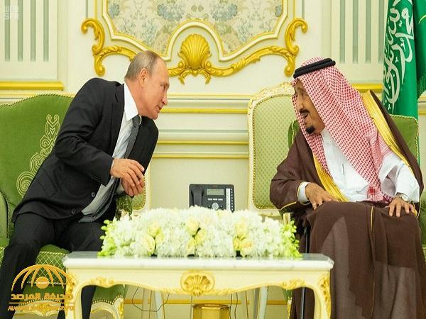 """استجابة لطلب الملك سلمان .. صحفي روسي يكشف عن أمر نادر الحدوث في رحلات""""بوتين"""" الخارجية"""