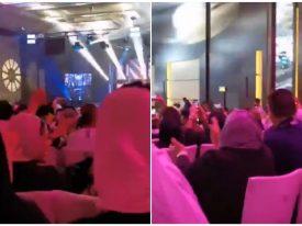 بالفيديو: رقص داخل حفل غنائي في الكويت .. وردة فعل من كويتي شاهد طليقته ترقص مع الراقصين