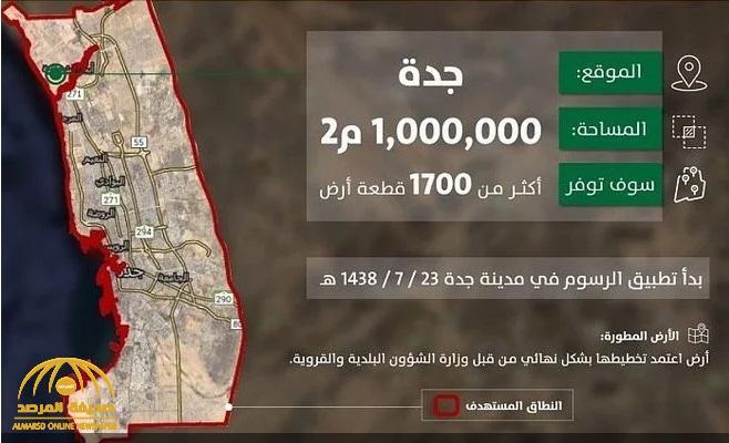 """""""الأراضي البيضاء"""" تكشف تفاصيل تطوير أرض خاضعة للرسوم من قبل مالكها بمساحة مليون م٢ في جدة"""