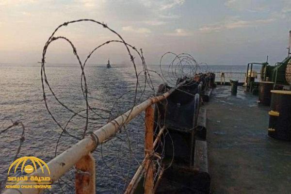 """شاهد.. صور لناقلة النفط  الإيرانية بعد تعرضها لحادث تفجير مزعوم  في """"البحر الأحمر"""""""