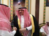 """شاهد: الأمير """"محمد بن نايف"""" يقدم واجب العزاء لأسرة اللواء الراحل """"عبد العزيز الفغم"""""""