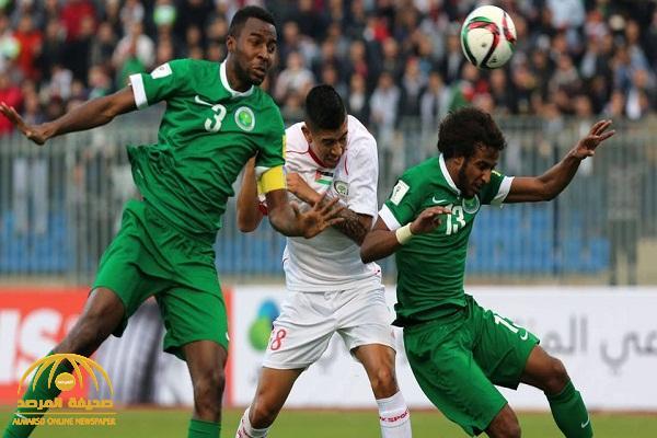 """المنتخب السعودي يواجه فلسطين في """"رام الله"""" ضمن التصفيات المزدوجة لكأس العالم 2022 وكأس آسيا 2023"""