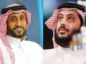 """""""تركي آل الشيخ"""" يرد على """"سامي الجابر"""" ويمازحه بتغريدة : لا تقبل على الملعب يانحس بس بشياكة!"""