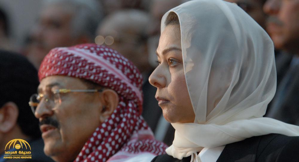 شاهد … رغد صدام حسين تعلق لأول مرة على تظاهرات العراق الدامية  بعد إعلان حظر التجول !