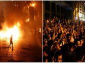 """شاهد: اللبنانيون ينتفضون في شوارع بيروت بسبب ضريبة  الـ""""واتساب"""" و""""فيسبوك"""""""