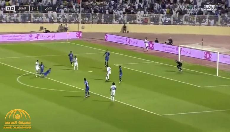 في مباراة مثيرة…  شاهد: الهلال ينجو من هزيمة ساحقة أمام الفتح ويتعادل معه 3-3