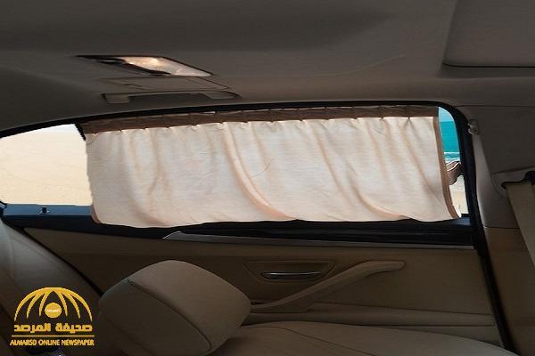 """""""المرور"""" يرد على سؤال مواطن """"بشأن استخدام الستائر داخل السيارة  للوقاية من الشمس"""" !"""