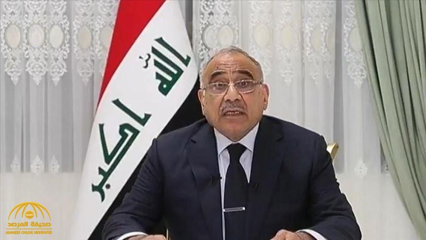 """رئيس الوزراء  العراقي """"عادل عبد المهدي"""" يعلن موافقته على الاستقالة"""