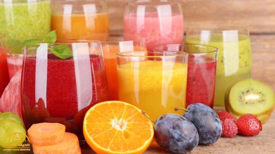 دراسة تكشف نتائج صادمة .. العصير الطبيعي قد يسبب هذا المرض !