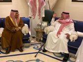 بالصور .. أمير الرياض يعزي الأمير بندر بن سلطان في وفاة والدته