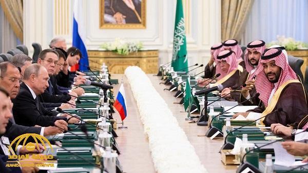 بالفيديو .. كلمة ولي العهد خلال جلسة المباحثات الرسمية مع الرئيس الروسي