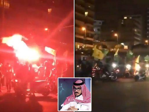أمجد طه: مليشيات نصرالله وحركة أمل المتطرفة يجوبون شوارع بيروت رافعين راياتهم ويهددون المتظاهرين- فيديو