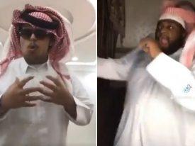 """شاهد .. آل الشيخ ينشر فيديوهات لشابين قاموا بتقليده أثناء إعلان افتتاح """"موسم الرياض"""" بطريقة طريفة"""