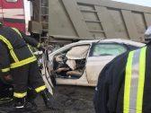 بالصور: رجل مرور يتعرض لحادث مروع أثناء ذهابه إلى عمله في الباحة !