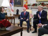 """رئيسة مجلس النواب الأمريكي نانسي بيلوسي: ترامب """"انفجر غضبا"""" خلال الاجتماع مع قادة الكونغرس!"""
