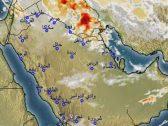 """""""الأرصاد"""" تكشف عن هطول أمطار رعدية ورياح نشطة على 10 مناطق خلال الساعات القادمة"""