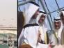 بالفيديو والصور ..  بأربعة  مقاتلات وحضور حاشد … شاهد كيف استقبلت الكويت  أميرها في المطار بعد رحلة علاجية بأمريكا !