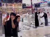 بالفيديو … حليمة بولند بين  الرجال بحفل عرس بالعباءة وغطاء الرأس في حفر الباطن !