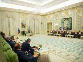بالصور .. ولي العهد والرئيس الروسي يترأسان الاجتماع الأول للجنة الاقتصادية السعودية الروسية
