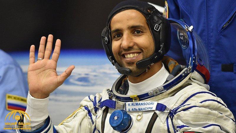 سر تضخم رأس رائد الفضاء الإماراتي هزاع المنصوري عقب وصوله المحطة الدولية !