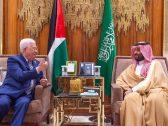 بالصور .. تفاصيل جلسة المحادثات الرسمية بين ولي العهد والرئيس الفلسطيني .. وهذا ما تم الاتفاق عليه