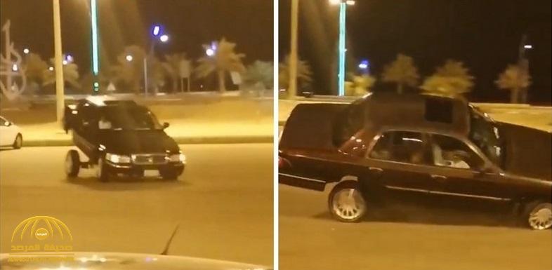 """شاهد .. تركي آل الشيخ ينشر فيديو لحادث تفحيط ويعلق : """" لو نجحت كان وجهنا لك دعوة في موسم الرياض"""""""