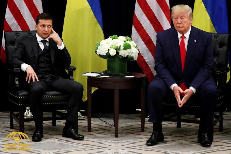 ترامب يقع في خطأ قد يغضب بوتين أثناء حديثه عن نظيره الأوكراني .. وصحفي أمريكي يسارع في تنبيهه على تويتر!