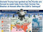 الديلي ميل: صفقة مع الشيطان.. الأكراد يطلبون الدعم من خصمهم بشار الأسد بعد خيانة ترامب لهم