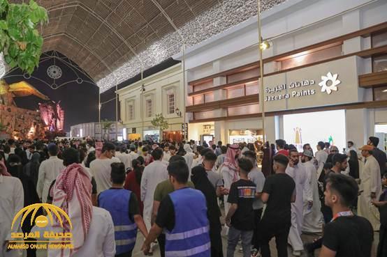 """""""دهانات الجزيرة"""" تشارك في """"البوليفارد"""" إسهاماً بصناعة الفرح في موسم الرياض-  فيديو وصور"""